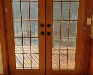 Set Of French Exterior Doors