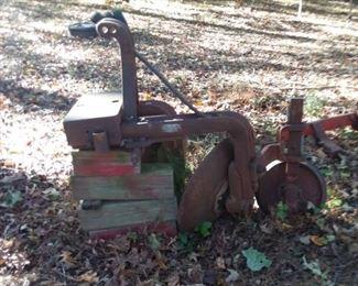 2 Disk Turing Plow Dearborn Farming Equipment