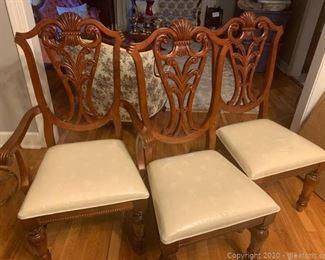 Alpine Pierced Back Dining Chairs