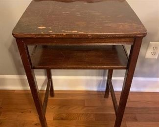 Antique 2 Tier Side Table
