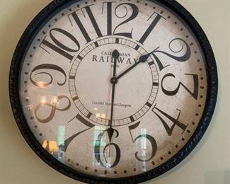Caledonian Railway 1879 Analog Wall Clock