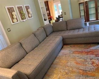 Cindy Crawford Colors Collection Sectional Sofa