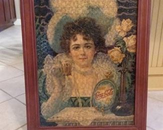 Framed One of Those girls Coca Cola Puzzle