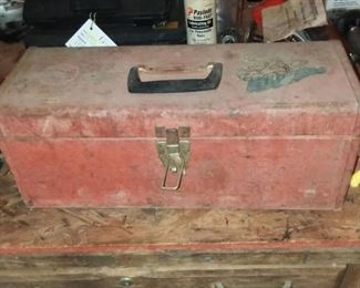 Kennedy Tool Box and Contents
