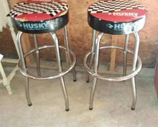 Pair of Husky Shop Stools