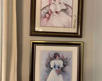 Portraits of Women in Victorian Dresses