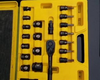Stanley Laser Etched Socket Wrench Set
