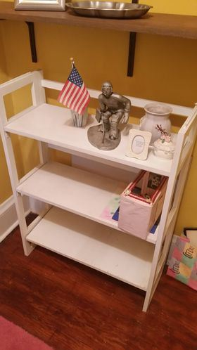 Bookcase / collectibles