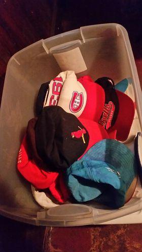 Various hats / caps