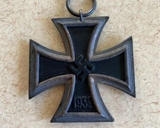 $130 German WW2 Iron Cross second class as found in estate