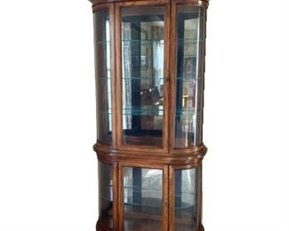Contemporary Curio Cabinet