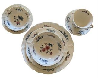 Williamsburg Potpourri by Wedgwood China Setting