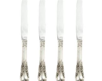 "Lunt ""American Victorian"" Sterling Dinner Knives"