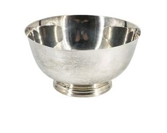 Reed & Barton 175 Silver Plated Fluted Center Piece Bowl