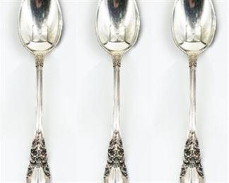 """Lunt """"American Victorian"""" Sterling Teaspoons"""