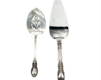 Lunt Sterling Silver Dessert Pieces
