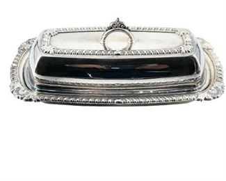 Pilgrim Silverplate 73 Covered Butter