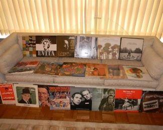 assorted Vinyl LP's (more not shown )