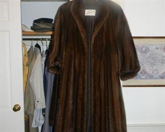 Full size fur coat