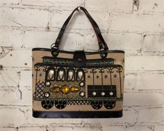 Enid Collins of Texas... choo choo goes the trolly, what a fun purse for any occasion.