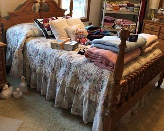 Full Size Bed (part of bedroom set)