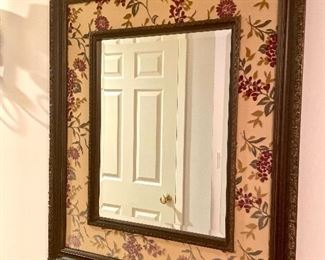 "Decorative Mirror, 37""H x 32"" W  $125"