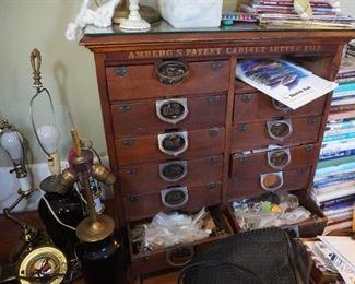 Amberg letter cabinet