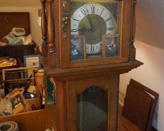 Vintage grandmother clock