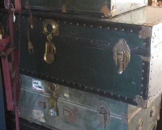 Plenty of old trunks