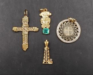 10k gold charms