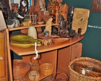 Wooden collectibles