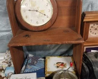 Doll Bench, Precious Moments Clock