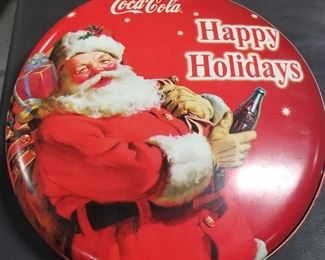 Coca-Cola Santa Sign