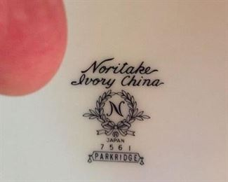 Noritake backstamp