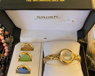 Gruen woman's watch