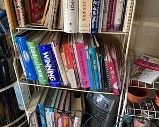 Hundreds of cookbooks $1 each. Grab what you can