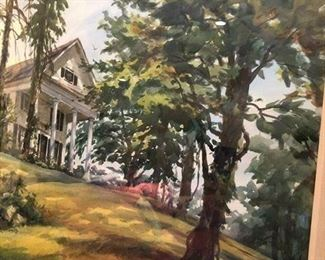 This Signed White House Watercolor Is A Must See...