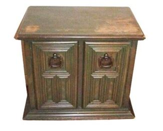 Stanley Dark Green End Table
