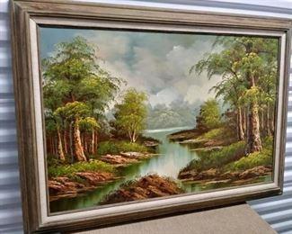 Beautiful Oil Landscape Painting