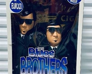 Blues Brothers, Jake and Elwood, Limited Edition 27 Inch Dolls