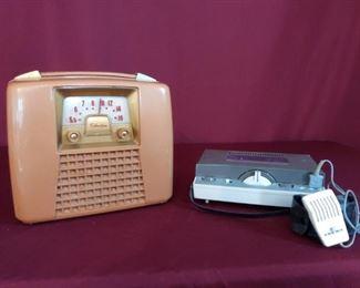 003 Silvertone RadioAiwa Transistor Tape Recorder