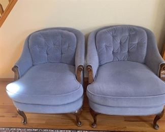 Baby Blue Side Chairs