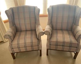 Ethan Allen Wing Back Chairs