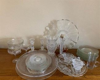 Glass Serving Items