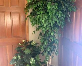 Large Faux Plants