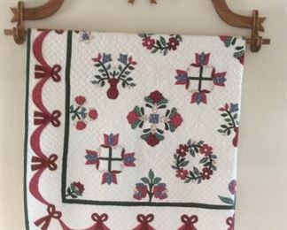 Quilt and Rack
