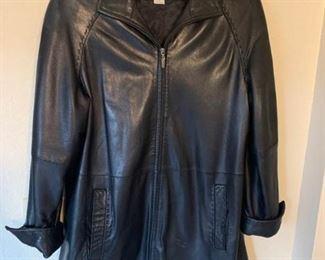 Worthington Leather Coat