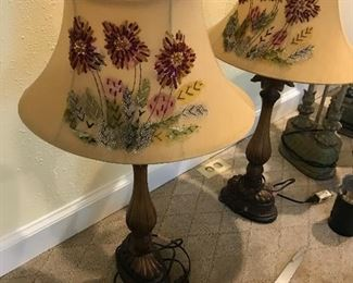Floral shades - lamps