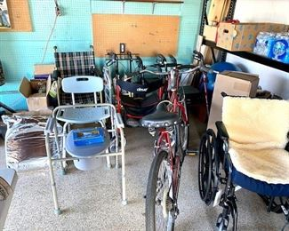 Lots of Mobility equipment