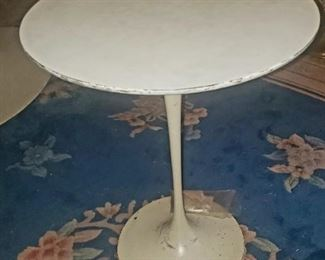 1 of 2 knoll side tables